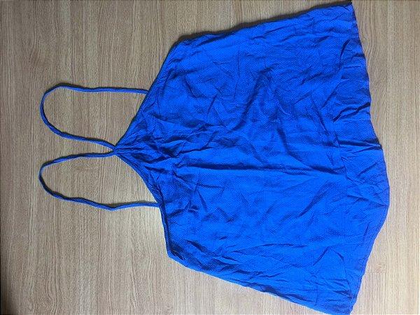Camiseta azul  (M) - Farm