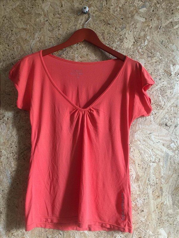 Blusa fit laranja (G)