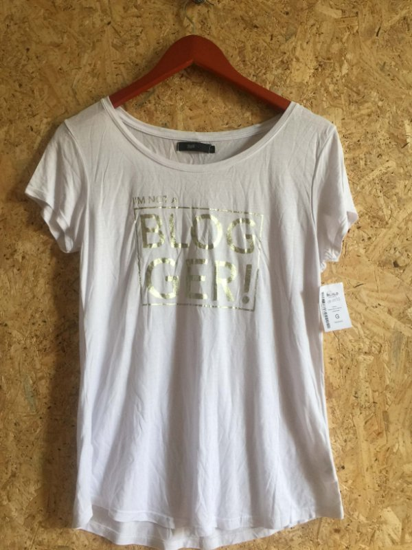 Camiseta malha branca (G)