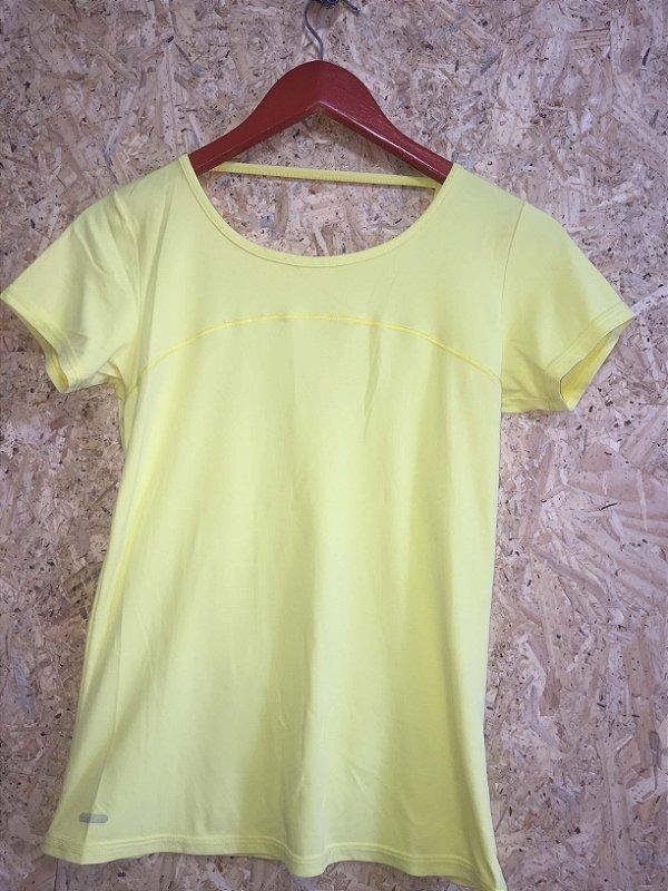 Camiseta fitness amarela (M)