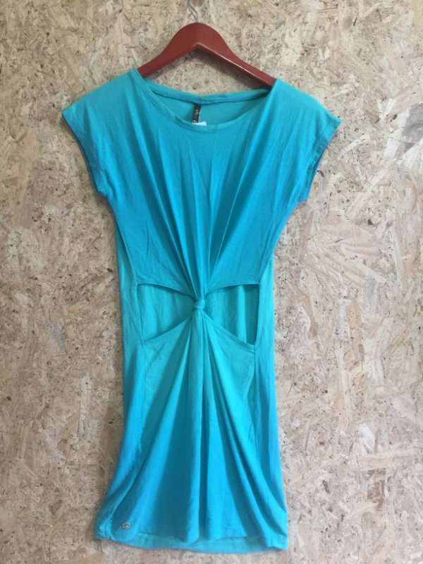 Vestido malha verde (G) - Hype