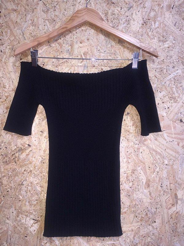 Blusa linha ombro a ombro (M) - Amaro