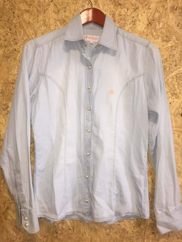 Camisa tipo jeans (40) - Dudalina