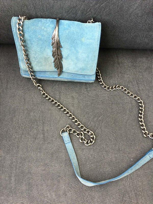 Bolsa camurça penas (U) - Zara