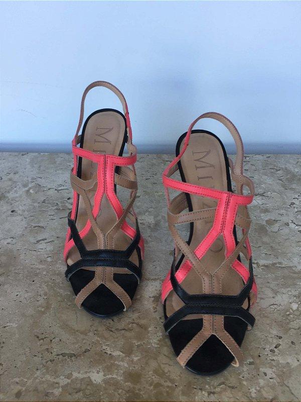 Sandália cores (37) - Miezko
