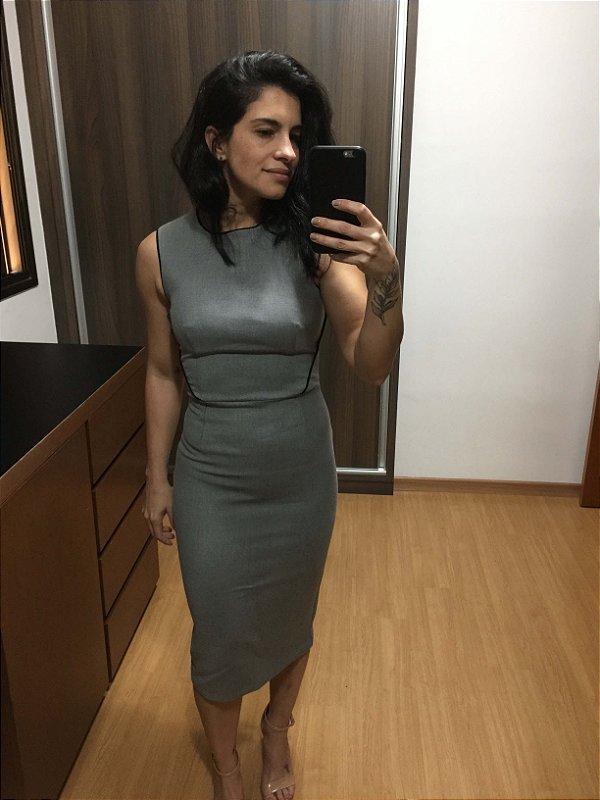 Vestido midi (PP) - Zara