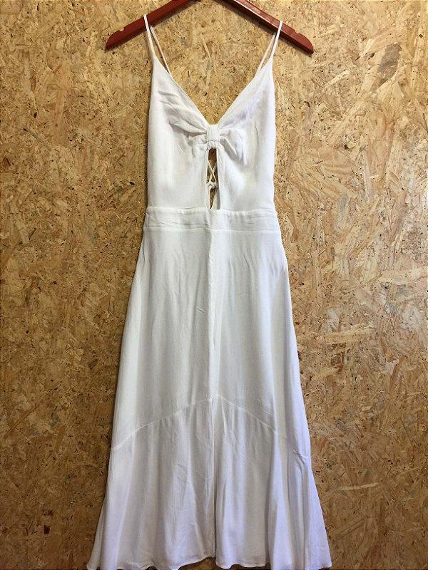Vestido branco (M) - DressCo