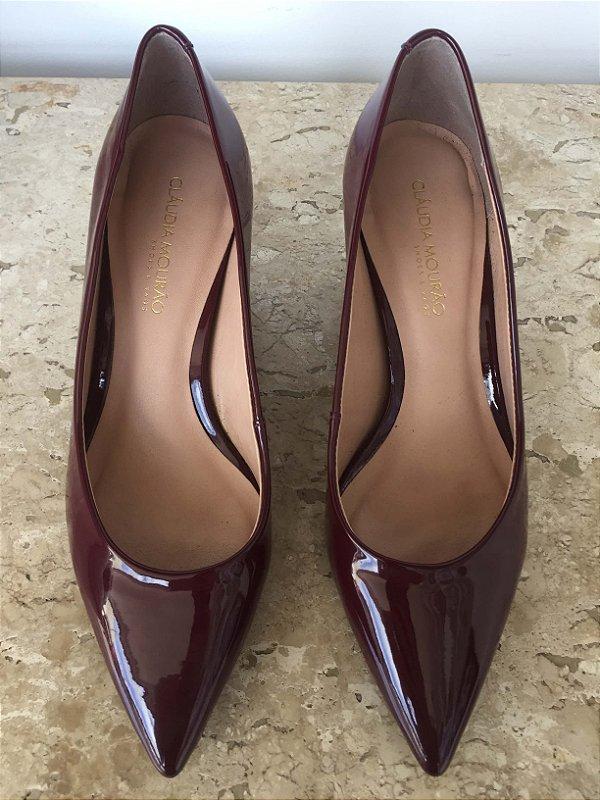 Sapato scarpin verniz (36) - Claudia Mourão