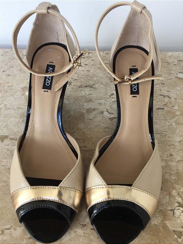 Sandália três cores (36) - Arezzo