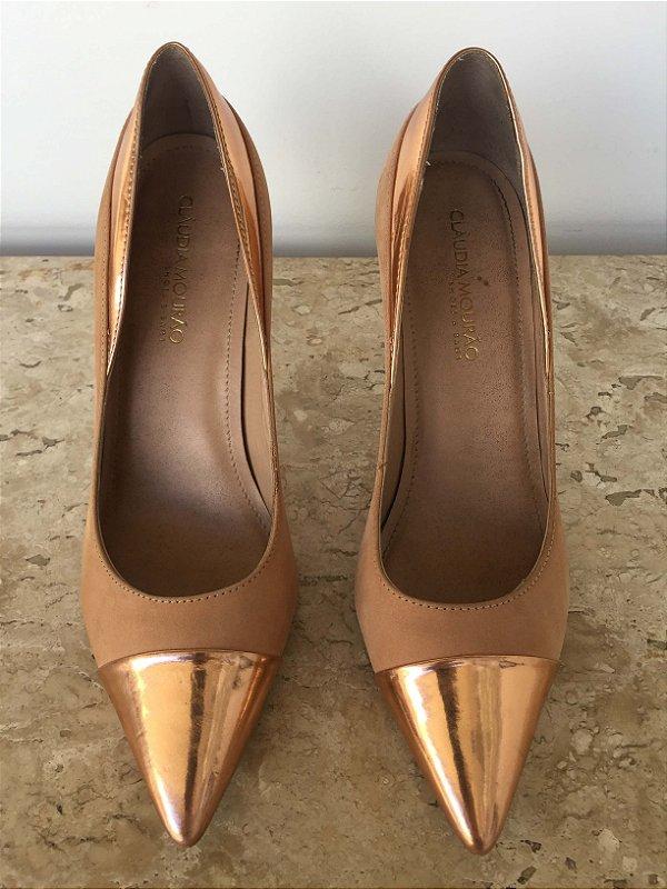 Sapato scarpin rosé (36) - Claudia Mourão