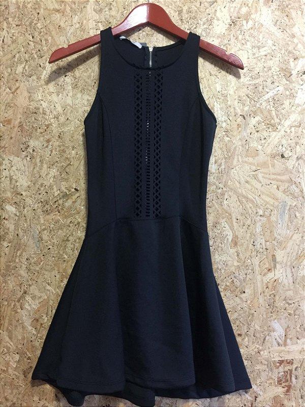 Vestido preto (P) - Blue rush