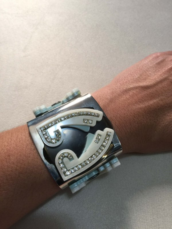 Bracelete azul - Aramez