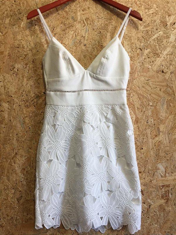 Vestido off white (36) - Agilitá
