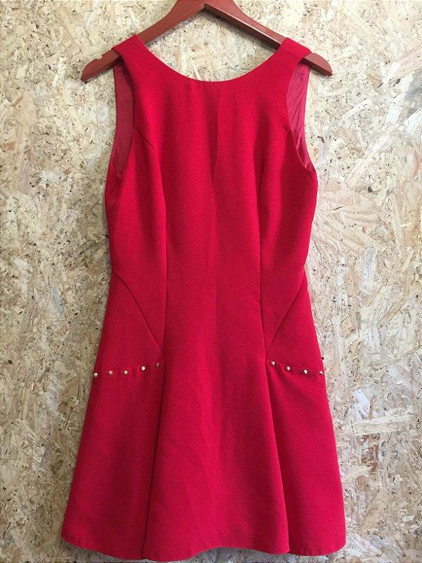 Vestido vermelho (40) - Carlos Miele