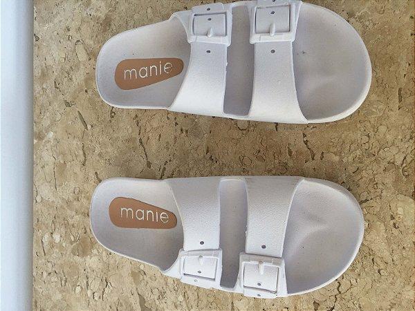Chinelo slide branco (35) - Manie