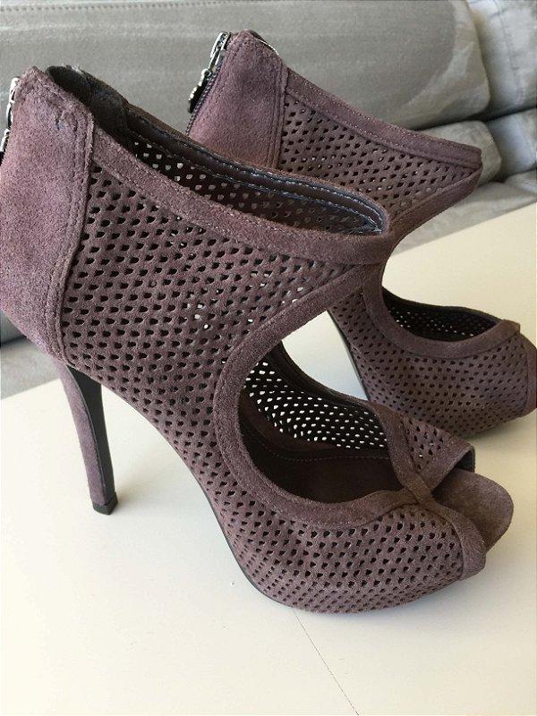 Peep toe couro (34) - My Shoes