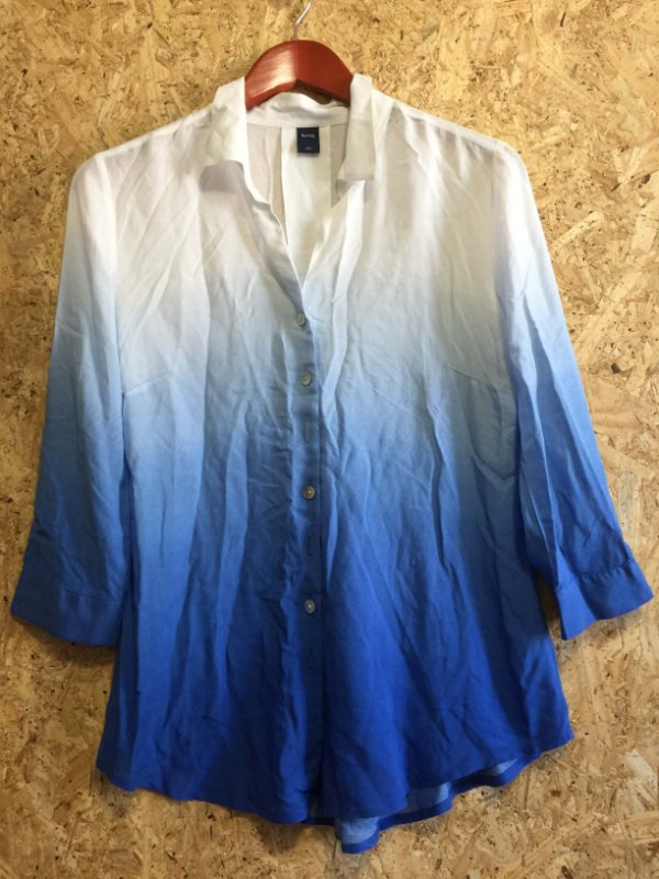 Camisa tie dye manga 7/8 (P) - Hering