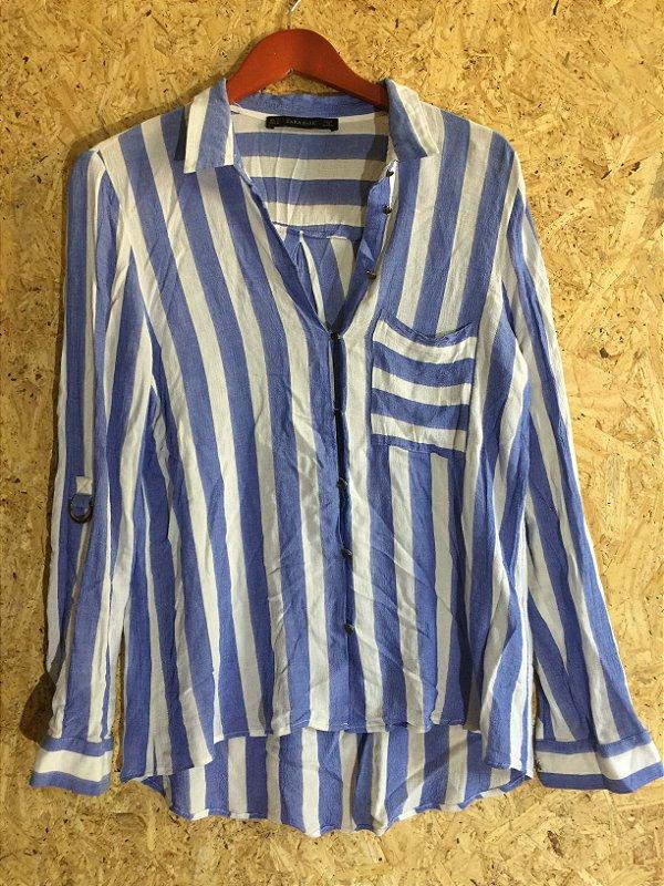 Camisa listras (G) - Zara
