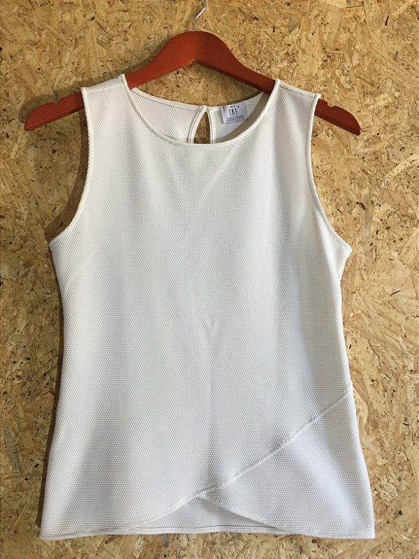 Camiseta textura (M) - Zara