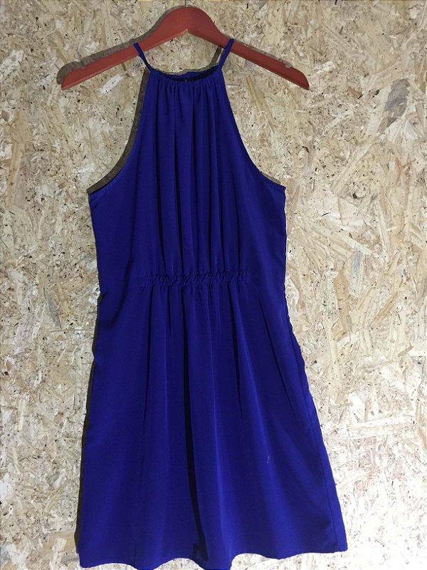Vestido azul (M) - Zara