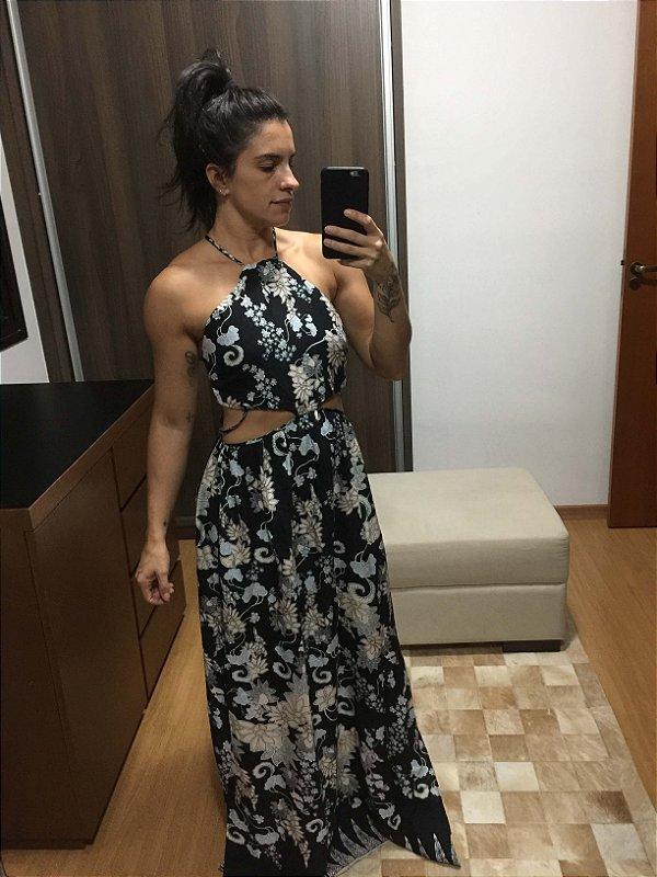 Vestido recortes (G)