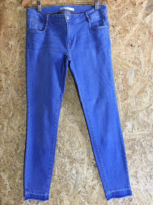 Calça jeans skinny azul claro (38) - Zara