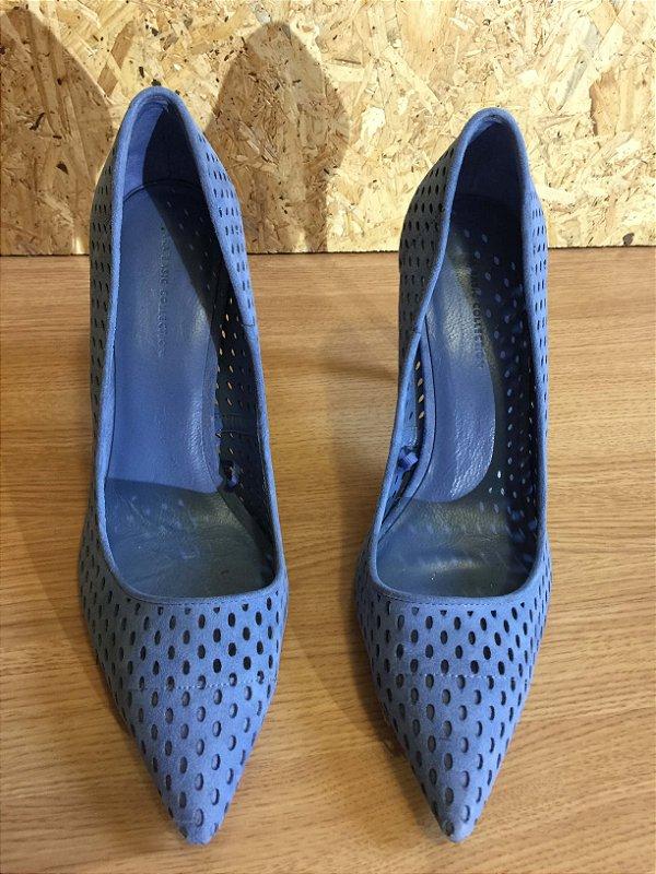 Scarpin azul (37) - Zara