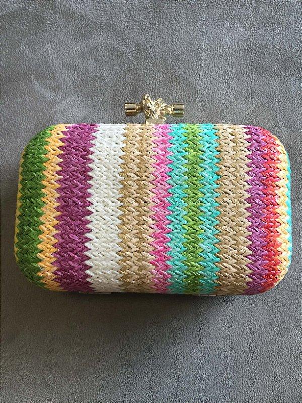 Bolsa e clutch colorida mini