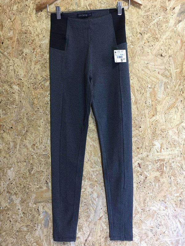 Calça cinza legging (P) - Cortelle NOVA