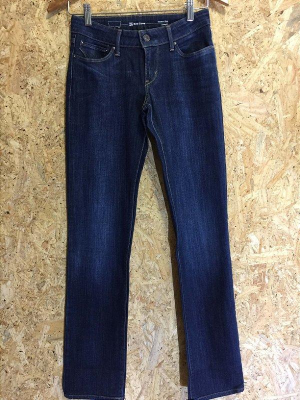 Calça jeans escuro straight (W26) - Levi's
