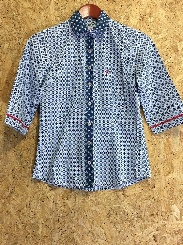 Camisa manga 3/4 (36)   - Dudalina