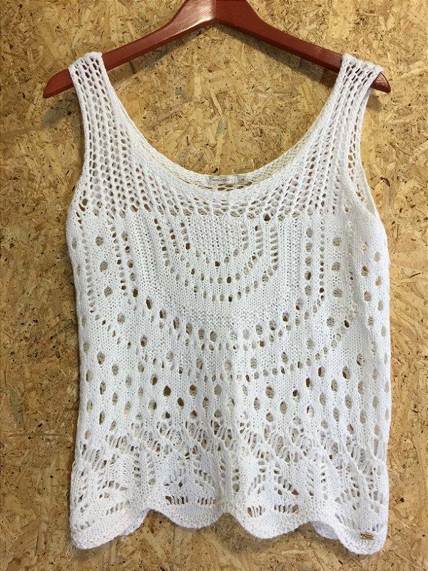 Camiseta tricot (M) - Maria Filó
