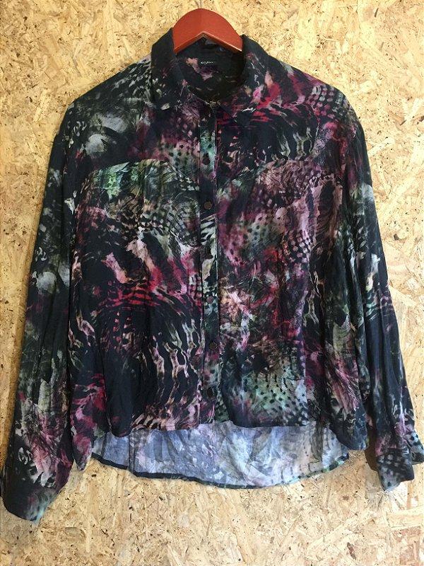 Camisa decote nas costas (PP) - Enjoy