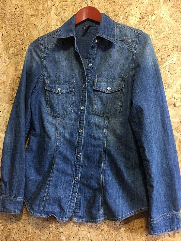 Camisa jeans (M) - Basement