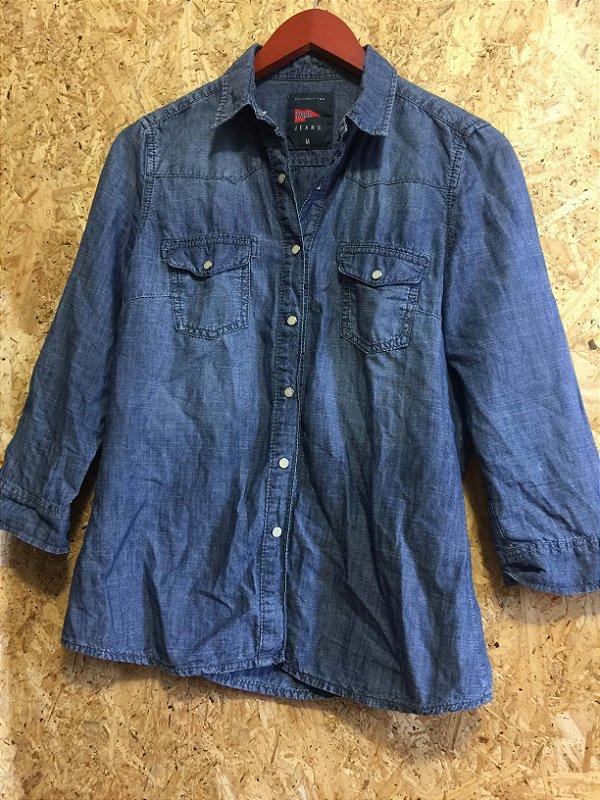Camisa jeans (M)