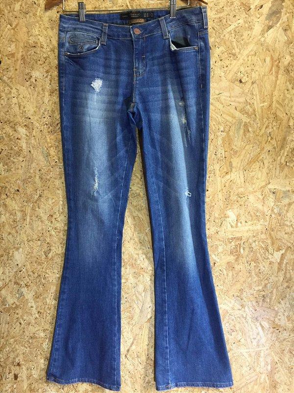 Calça jeans boot cut (40) - Zara