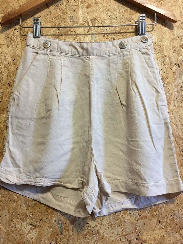 Short tecido cintura alta (34) - Cantão