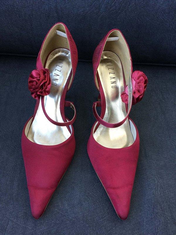 Sapato vermelho (38) - Vizzano