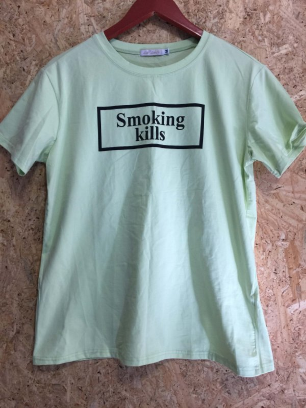 Blusa verde neon (M) - Lia Lobato
