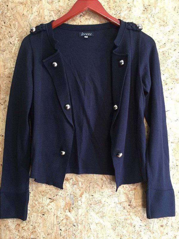 Casaco preto botões (P) - Iorane