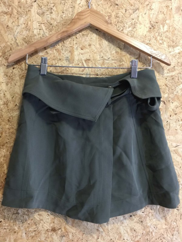 Short saia verde militar (34) - Mixed