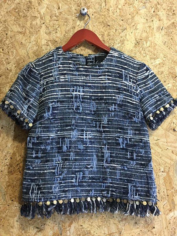 Blusa tweed (36) - Talienk