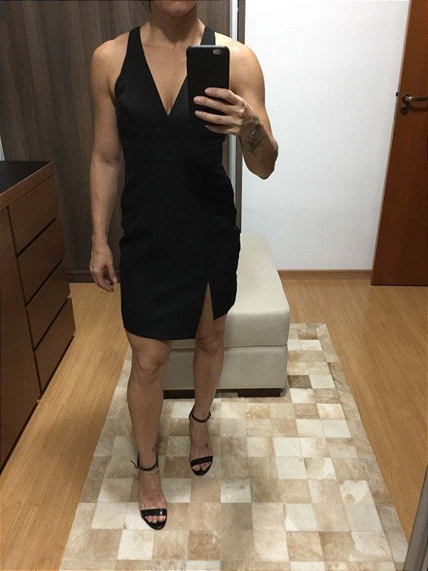 Vestido preto curto (38) - Caos