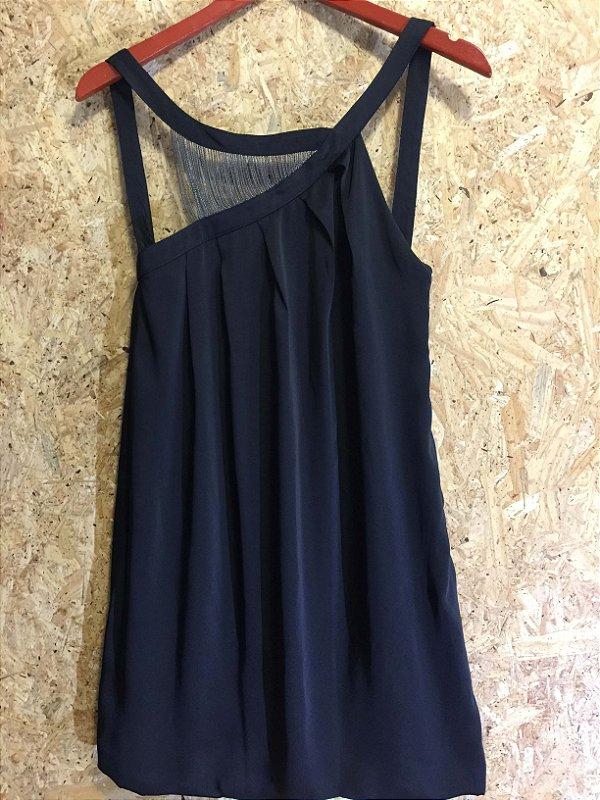 Vestido preto correntes (M) - Caos