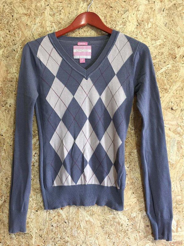 Blusa tricot (P) - Opção