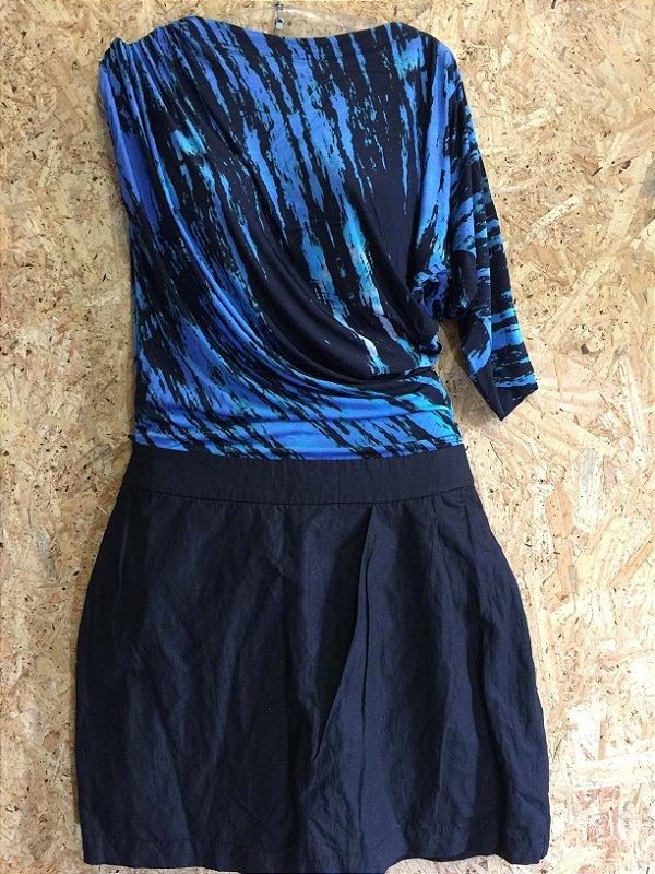 Vestido manga franzida (P) - Caos
