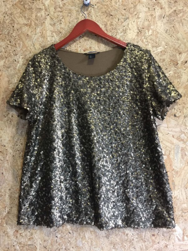 Blusa paetês (G) - H&M