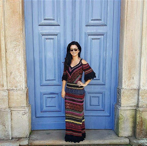 Vestido (P) - Cecilia Prado NOVO