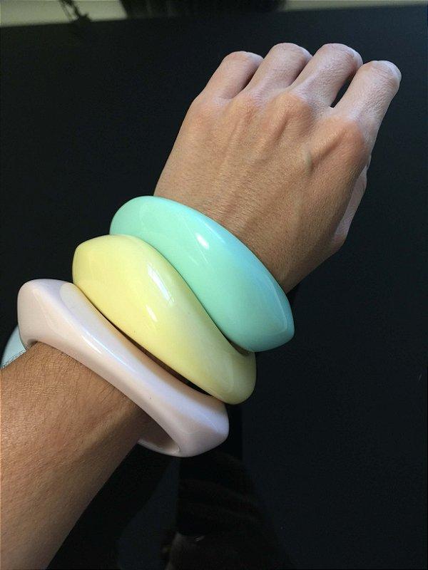 Conjunto 3 braceletes