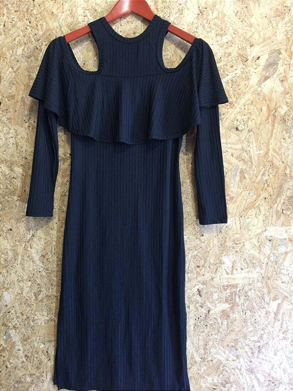 Vestido canelado (M) - Relicário NOVO